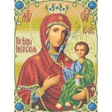 ИК3-0265 Иверская икона Божией матери. Схема для вышивки бисером Феникс