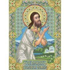 ИК3-0269 Святой Алексий, человек Божий. Схема для вышивки бисером Феникс