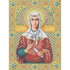 ИК3-0259 Святая мученица Татиана. Схема для вышивки бисером Феникс