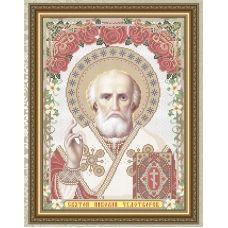 VIA-3010 Св. Николай Чудотворец. Схема для вышивки бисером. АртСоло