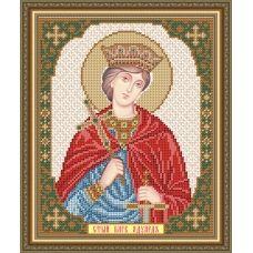 VIA-4130 Св. Благ. Король Английский Эдуард. Схема для вышивки бисером. АртСоло