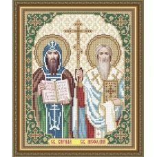 VIA-4177 Святые Кирилл и Мефодий. Схема для вышивки бисером. АртСоло
