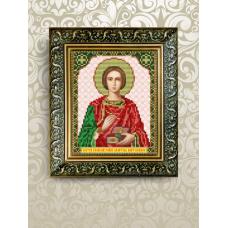 VIA-5068 Святой Пантелеймон. Схема для вышивки бисером. АртСоло