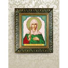 VIA-5070 Святая  Антонина. Схема для вышивки бисером. АртСоло