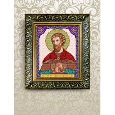 VIA-5072  Святой Артемий. Схема для вышивки бисером. АртСоло