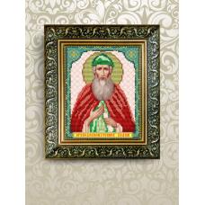 VIA-5076 Святой Вадим. Схема для вышивки бисером. АртСоло
