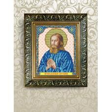 VIA-5077 Святой Виталий. Схема для вышивки бисером. АртСоло