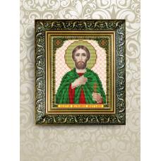 VIA-5078 Святой Анатолий. Схема для вышивки бисером. АртСоло