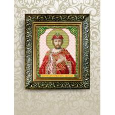 VIA-5079 Святой Владислав . Схема для вышивки бисером. АртСоло
