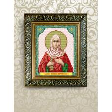 VIA-5080 Св. Иоанна (Яна). Схема для вышивки бисером. АртСоло