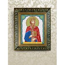 VIA-5082  Святой Вячеслав. Схема для вышивки бисером. АртСоло
