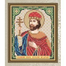 VIA-5098 Великий князь Ярослав Мудрый. Схема для вышивки бисером. АртСоло