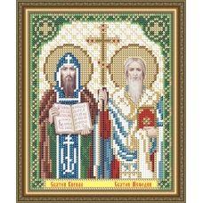 VIA-5177 Святые Кирилл и Мефодий. Схема для вышивки бисером. АртСоло