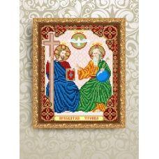 VIA-4231 Отец Сын и Святой дух. Схема для вышивки бисером. АртСоло