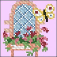 ФЧК-6006 Винтажный стул. Схема для вышивки бисером Феникс