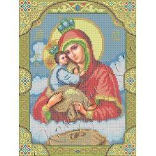 ИК3-0274 Почаевская икона Божией Матери. Схема для вышивки бисером Феникс