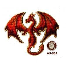 WS-005 Дракон. Набор для вышивки WoodStitch