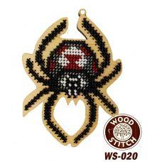 WS-020 Паук. Набор для вышивки WoodStitch