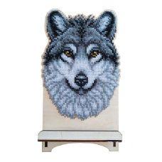 WSR-010 Волк. Подставка под телефон. ТМ WoodStitch