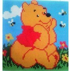СД-002 Винни и пчелы. Схема для вышивки бисером. Княгиня Ольга