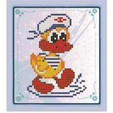 СД-019 Утенок-морячок. Схема для вышивки бисером. Княгиня Ольга