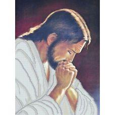 КРВ-18 Молитва Иисуса. Схема для вышивки бисером ТМ Княгиня Ольга