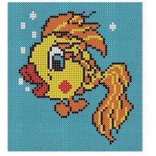 СД-013 Золотая рыбка. Схема для вышивки бисером. Княгиня Ольга