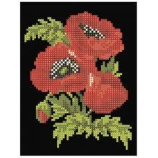 СД-005 Маков цвет. Схема для вышивки бисером. Княгиня Ольга