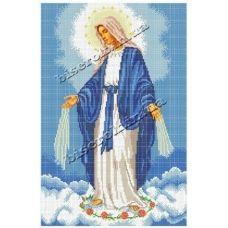 КРВ-06 Непорочное зачатие Пресвятой Девы Марии. Схема для вышивки бисером ТМ Княгиня Ольга