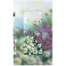 SI-083a(15*30) ХОЛСТ. Цветочное поле. Схема для вышивки бисером Свит Арт